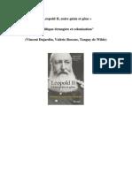 Critique Leopold II