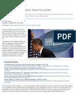 Barack Obama's Oratory Loses Its Oomph