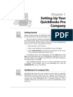 Setting Up Your QuickBooks Pro Company