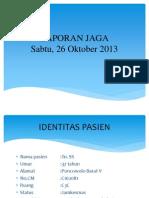 laporan jaga interna, 26 OKT 2013.pptx