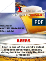 No . 1 Beer Brands in India