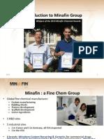 Minafin Group Corporate Presentation 2013