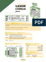 10a INGLES Multiplexor KR 8x420 420F