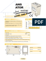14b- INGLES- Generador de 4+1 señales -10 - +10V (Consignas y Rampas independientes)