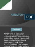 Amblyopia Ppt Baru