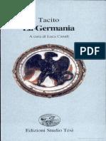 123480789 Tacito La Germania