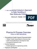 W3 Heidel Safe Handling Pharmaceuticals