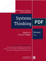 Systems Thinking