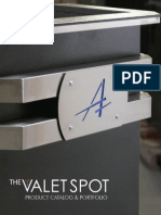 The Valet Spot 2013 Product Catalog