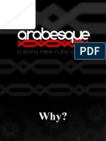 Arabesque-RubyKaigi2009