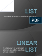 LIST_Lecture in Data Structures.ppt