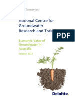Economic Value of Groundwater FINAL