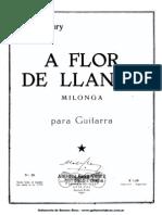 A Flor de Llanto