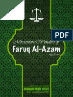 Miraculous Wonders of Faruq Al-A'zam (  رضی اللہ تعالی عنہ )