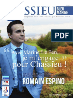 Chassieu Bleu Marine - Numéro 1