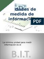Unidades de medida de información