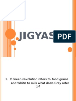 1. if Green Revolution Refers to Food Grains and White