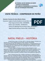 VISITA TECNICA - COMPRESSOR DE PISTÃO