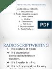 Journ Training-RADIO SCRIPTWRITING AND BROADCASTING.pptx