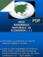 Asia Resursele Naturale Si Economia i