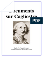 Documents Sur Cagliostro