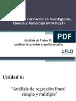 6. Profincyt - Análisis de Datos II