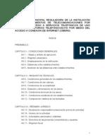 Ordenanza de locutorios del Ayuntamiento de Vitoria