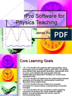LoggerPro Software for Physics Teaching