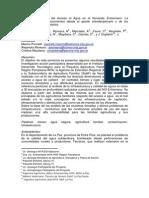 Condicionantes al acceso a agua segura en Entre Ríos Argentina.pdf