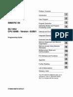 6ES5998-2PR22 Programmieranleitung CPU928B-3UB21 e OCR