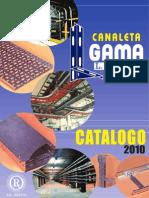 Catalogo Bandeja Gama 2010