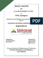HR NTPC