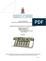 Vibration effects on solidification of low melting point metal