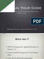 XDebug Your Code