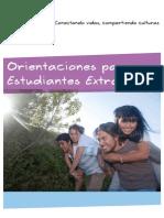 Manual de Orientaciones Hosting para Participantes y Familias Versión 2013
