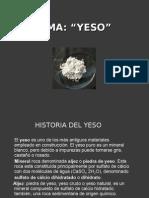 CLASE YESO Alvarado Pacheco
