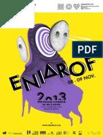 Programme Eniarof 2013
