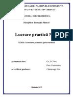 3.Acordarea Primului Ajutor Medical NR3 ELECTROTEHNICA