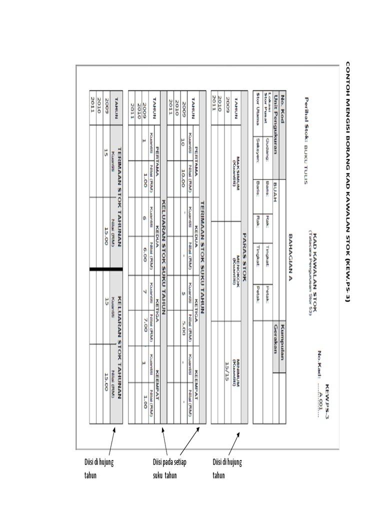 Panduan Mengisi Borang Kewps3 4 Dan 14 Pdf