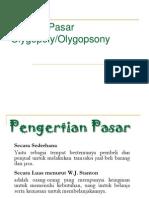 PP Struktur Pasar Oligopoli