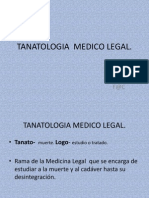 M.legal TANATOLOGIA Conceptos y Clasif.