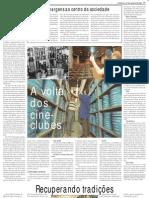 Cineclubismo - Jornal Do Brasil