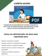 SLIDE SEMINÁRIO Auxilia de secretaria escolar