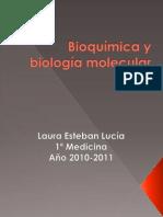 Tocho BIOQUÍMICA Y BIOLOGÍA MOLECULAR