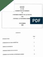 Uniform Format of Accounts(18)