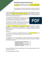 Administracion de La Arquitectura Tecnologica (1)