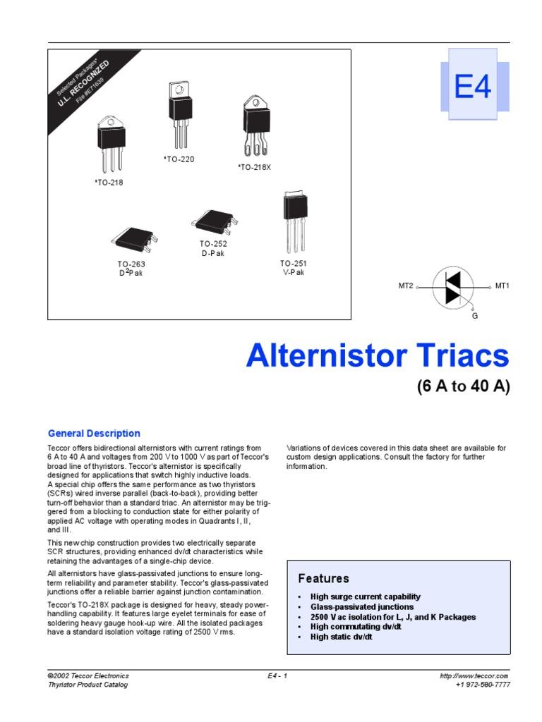 Littelfuse-q6030lh5-thyrsitor,600 V,30 ISOL TO220