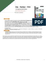 PHP et MYSQL - MySQLi - PDO Construisez votre application - 2ème Edition