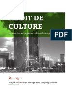 Audit de culture d'entreprise