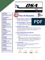 2009 08 Aug Newsletter